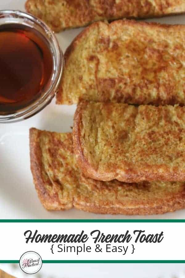Homemade French Toast Recipe - Simple and Easy