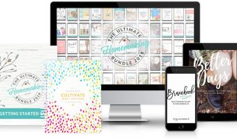 The 2018 Ultimate Homemaking Bundle