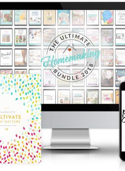The 2018 Ultimate Homemaking Bundle