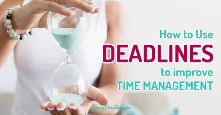 How to Use Deadlines to Improve Time Management