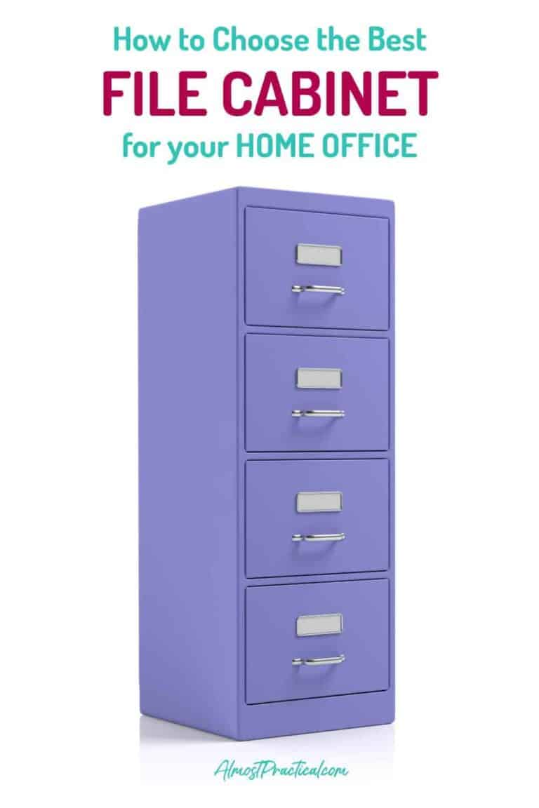 How to Choose the Best File Cabinet for Your Home Office