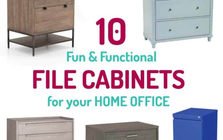 10 Fancy File Cabinets for Your Home Office