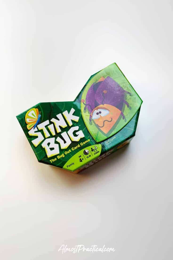 photo of the Stink Bug Card Game box