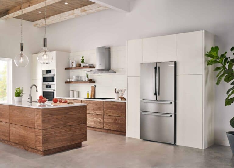 An All New Bosch Counter Depth Refrigerator Will Look Great In Your Kitchen