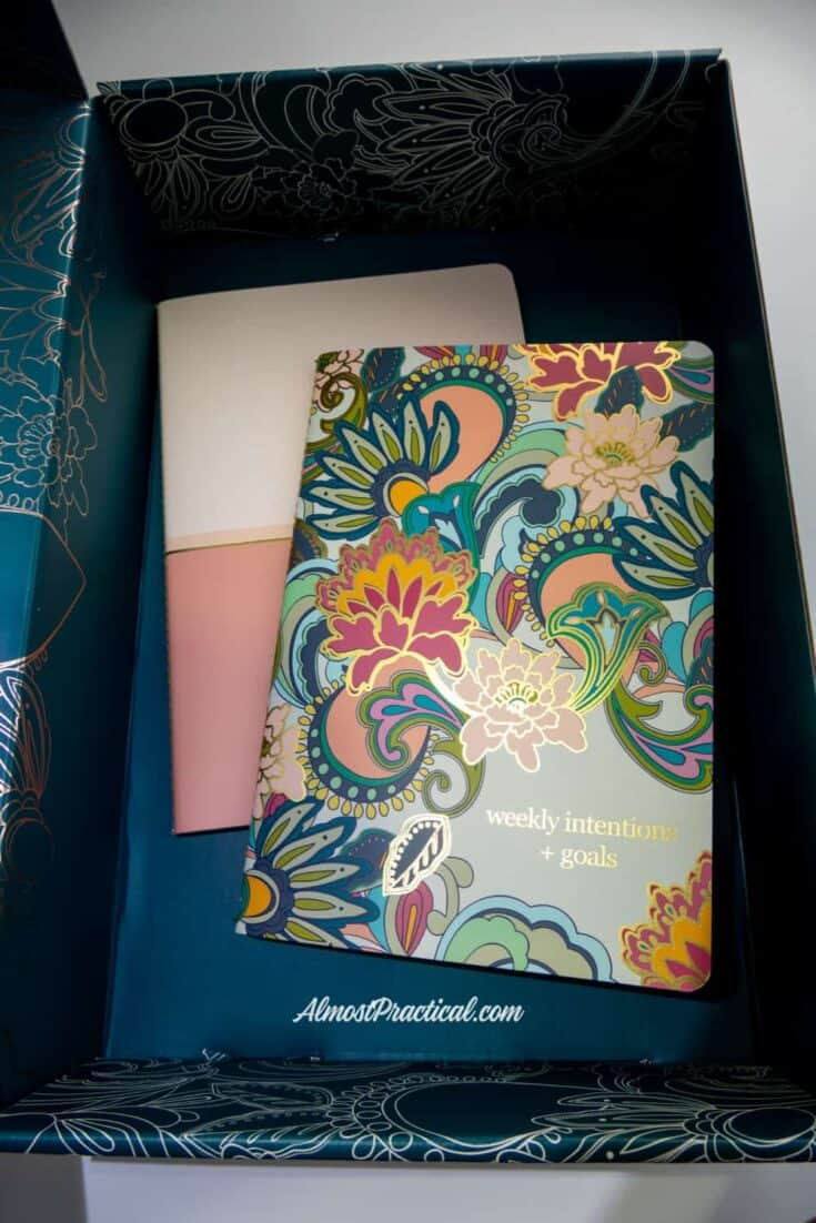 2 Erin Condren Petite Planner Journals in the 2019 Erin Condren Winter Surprise Box.