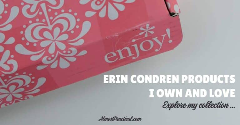 Erin Condren Products I Own and Love