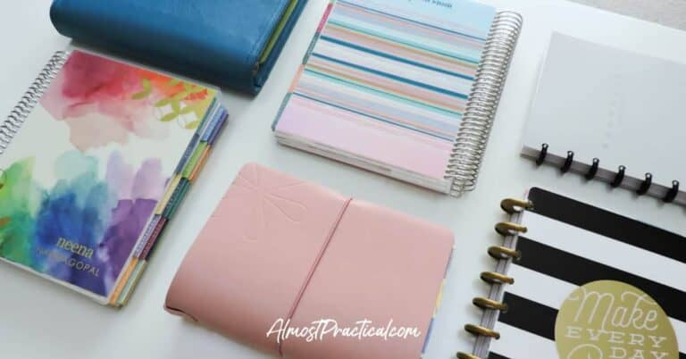 10 Tips for Better Planner Organization