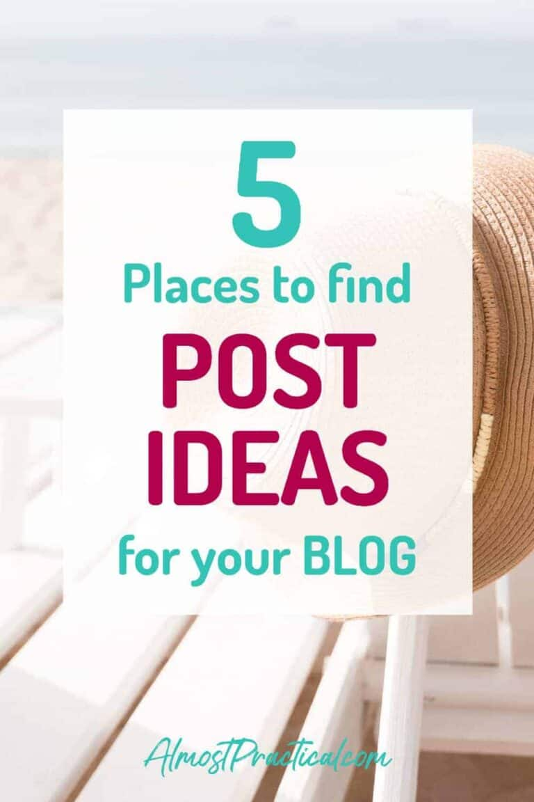 5 Places to Find Blog Post Ideas