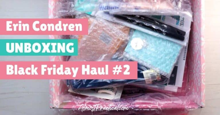 Erin Condren Unboxing – Black Friday Haul #2
