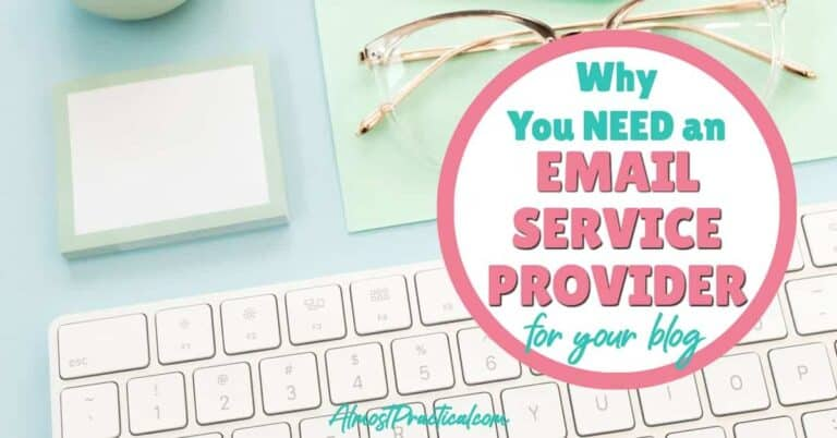 Why You NEED An Email Marketing Service for Your Blog