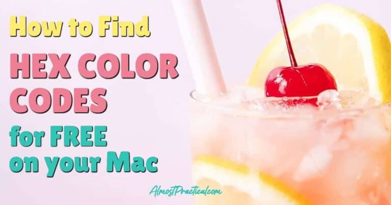 Digital Color Meter – A FREE Mac Color Picker That You Already Own