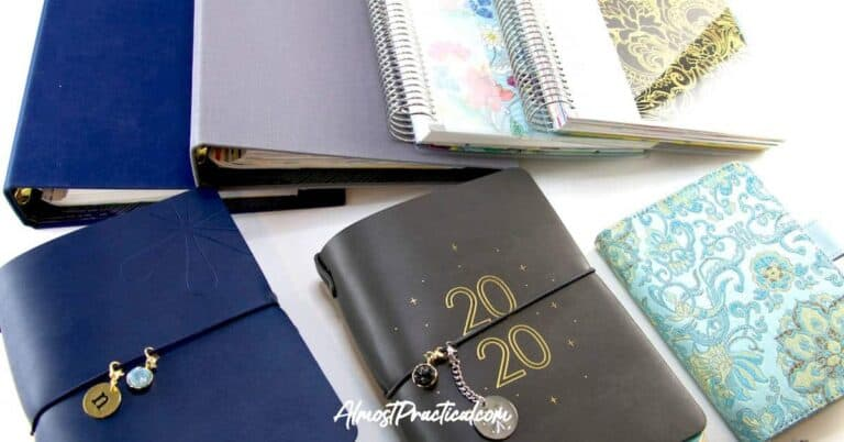 2020 Planner Stack – The Planners I Am Using in the New Year