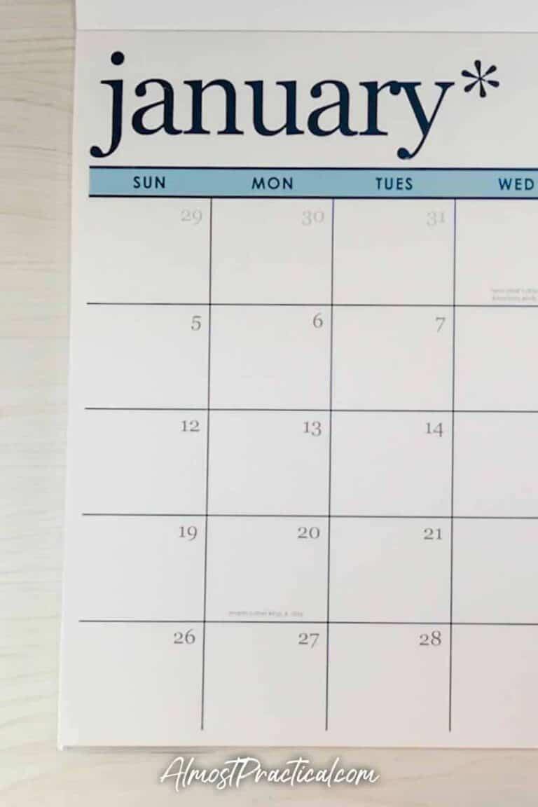 2020 Erin Condren Desk Calendar Review