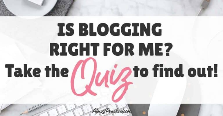 Is Blogging Right for Me? Take the Quiz.