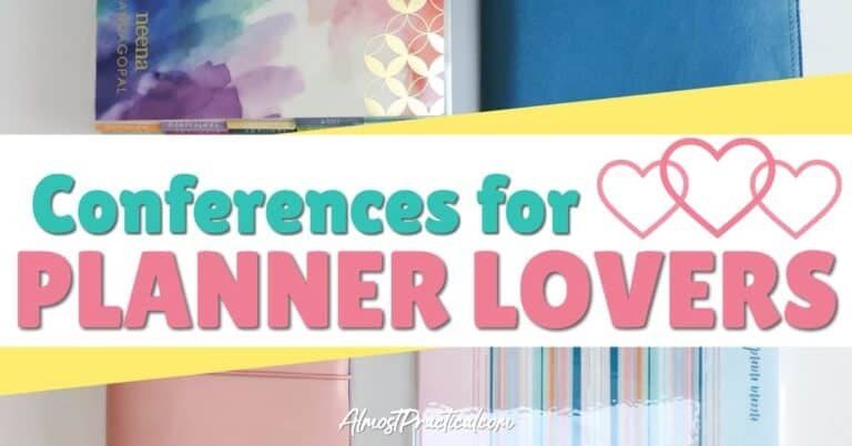 Conferences for Planner Lovers
