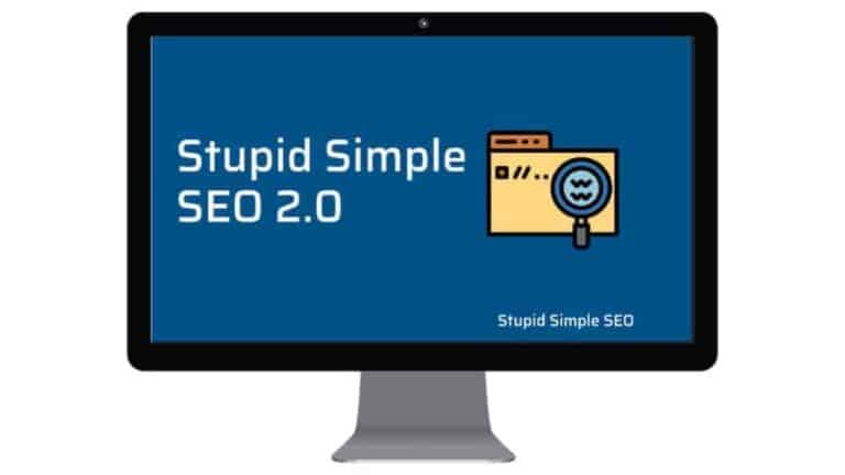 Stupid Simple SEO Course Review