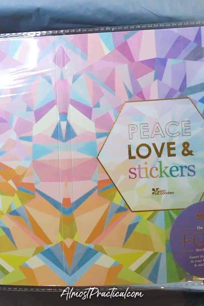 Erin Condren Sticker Album