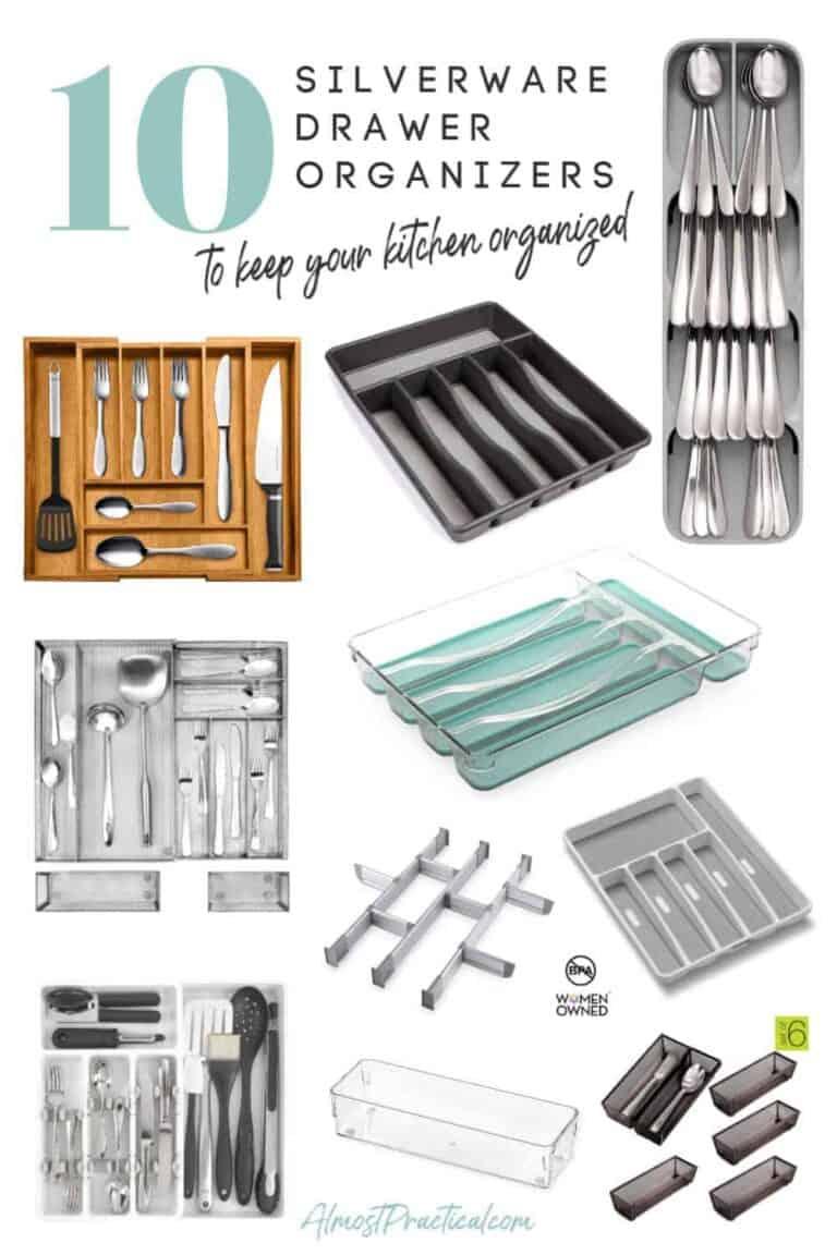 10 Silverware Drawer Organizers to Keep Your Kitchen Organized