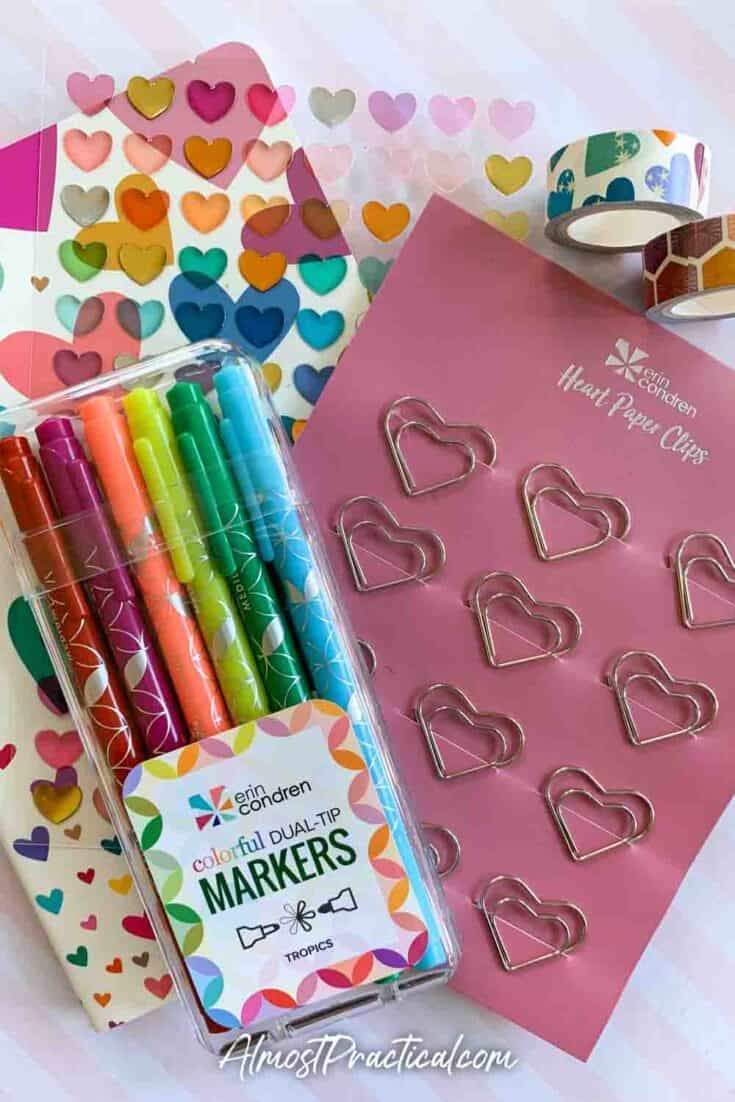 Erin Condren Valentine's Day Bundle