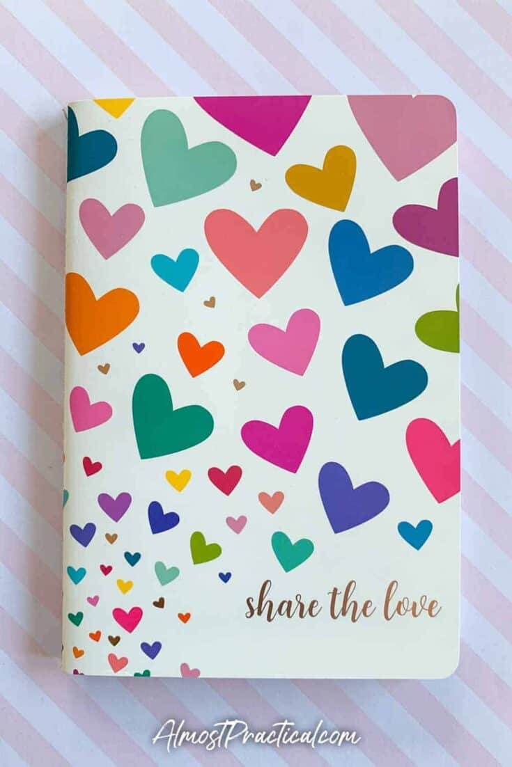 The Erin Condren Share the Love Petite Planner