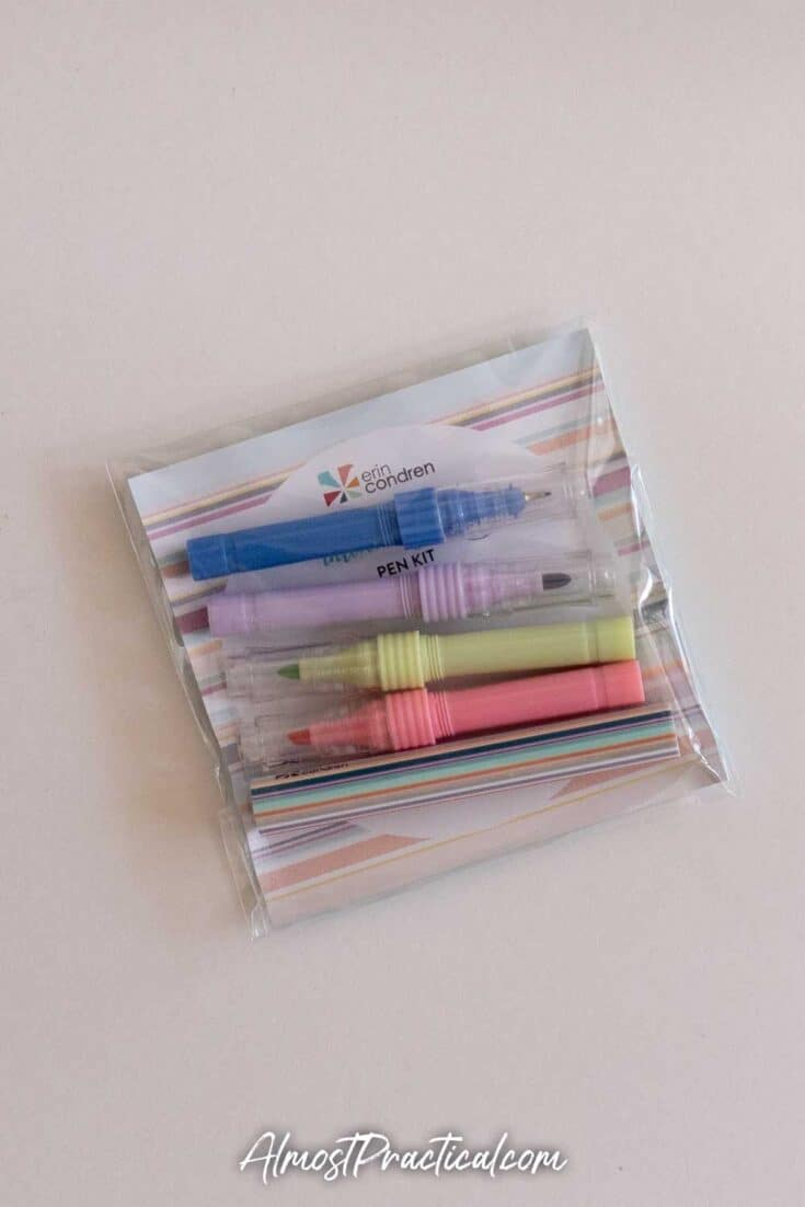 Erin Condren DIY (Do It Yourself) Pen Kit