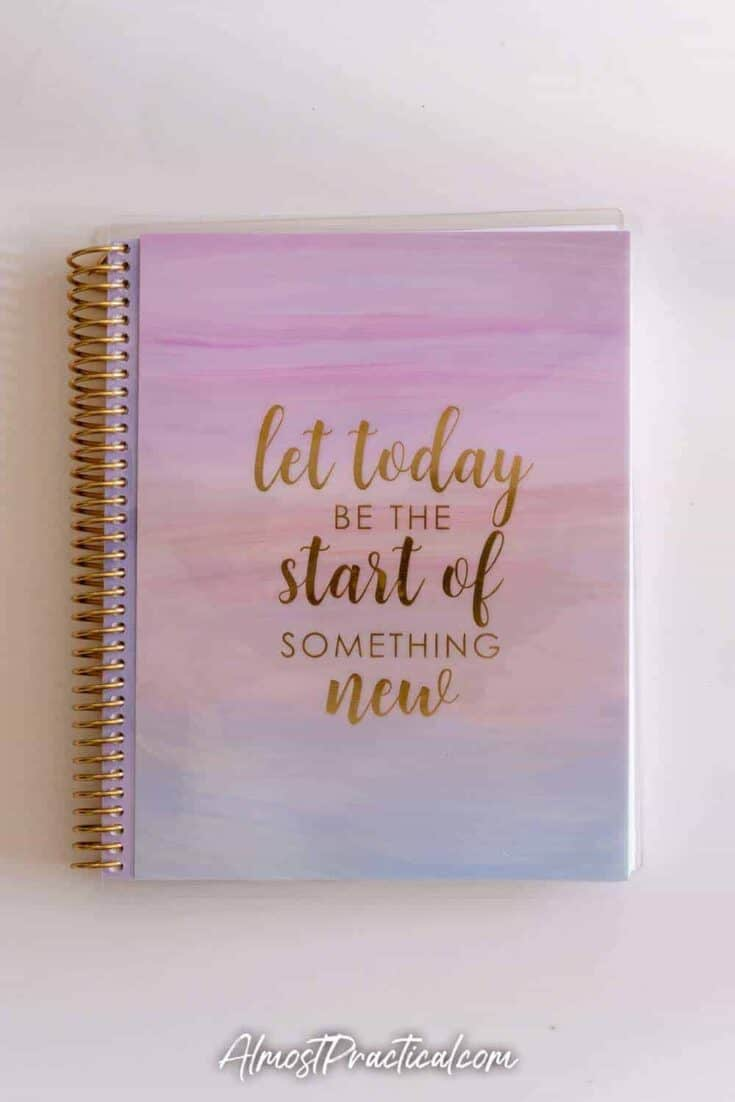 The Erin Condren Vision Journal