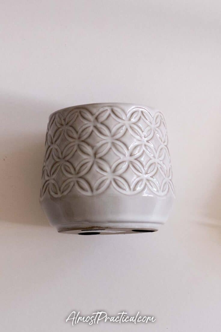Erin Condren Ceramic Planter or pencil cup