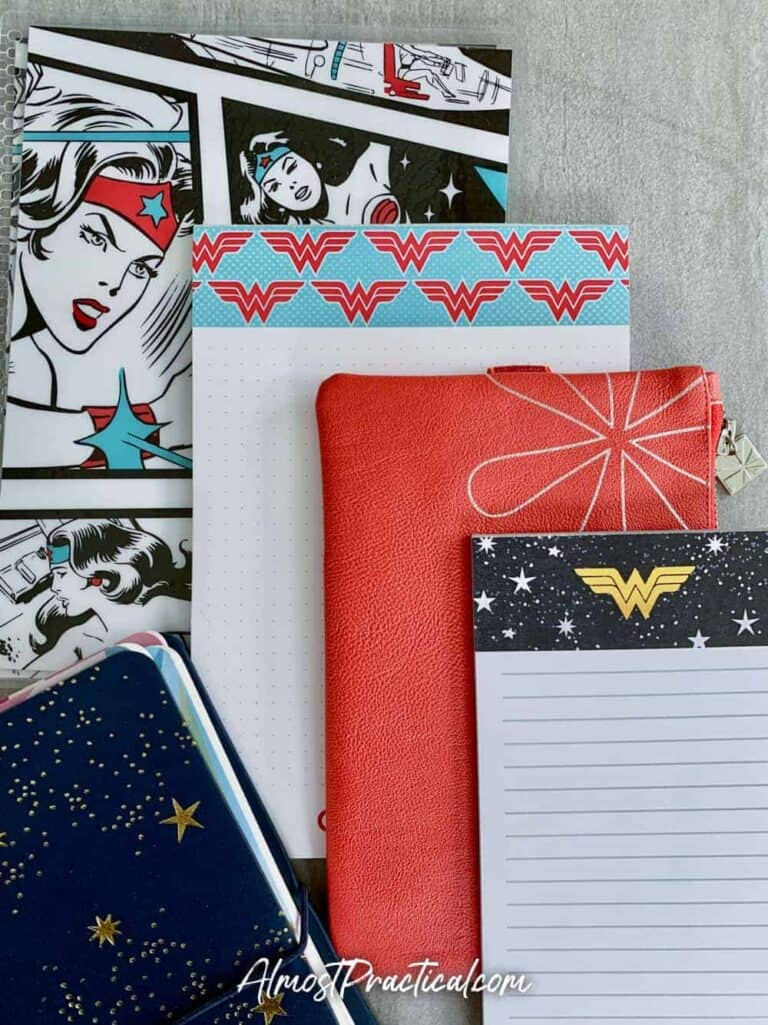Erin Condren Wonder Woman Collection – Who is Your Hero?