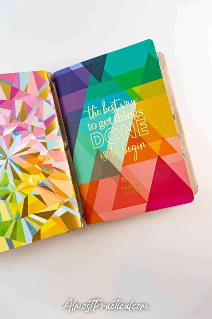 Erin Condren Budget Book Petite Planner