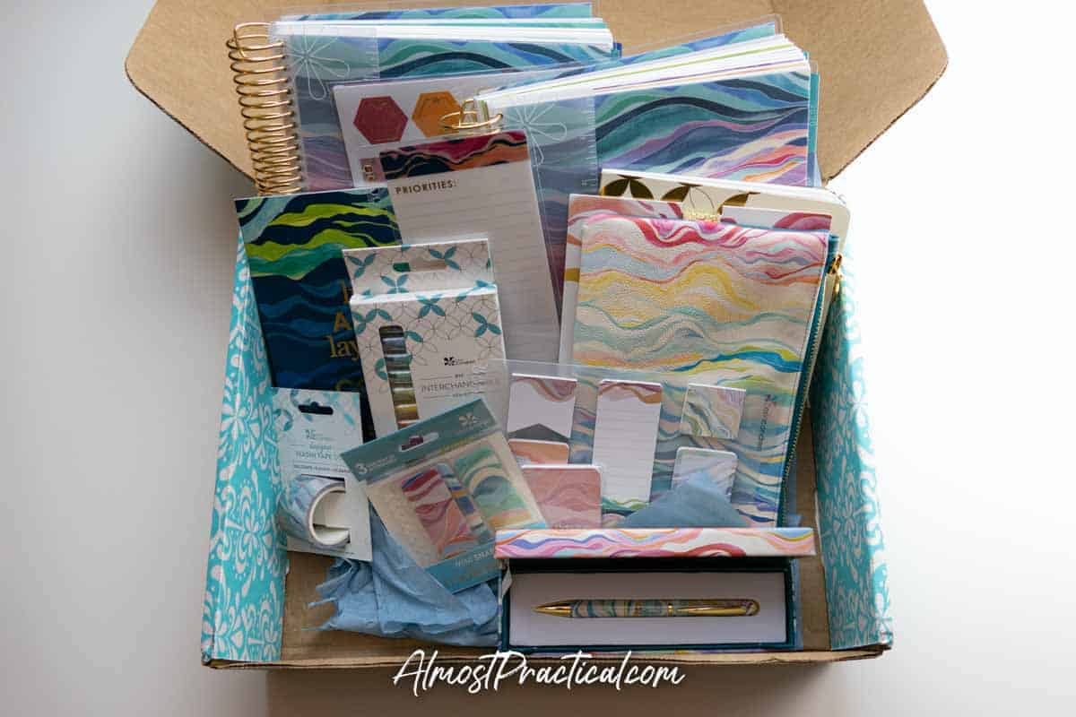 Erin Condren Layers Collection Unboxing
