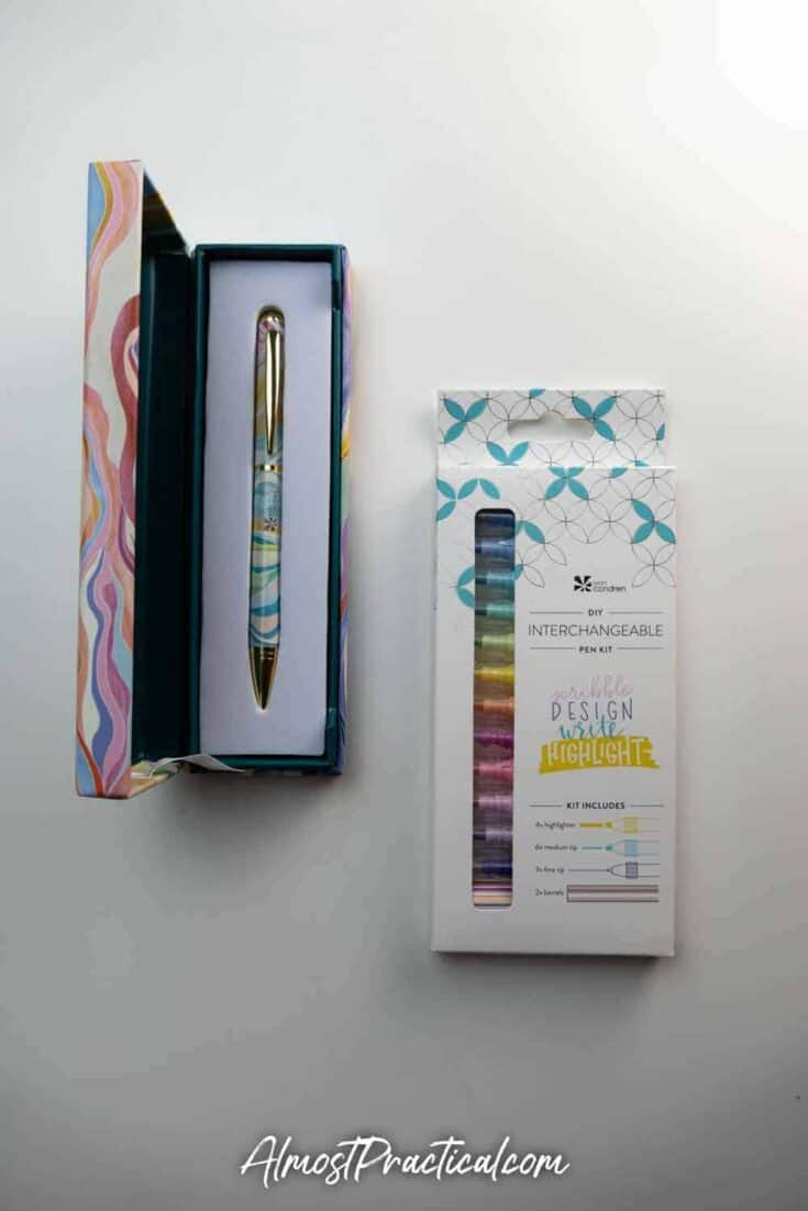 Erin Condren Layers Ballpoint Pen and DIY Interchangeable Pen Kit