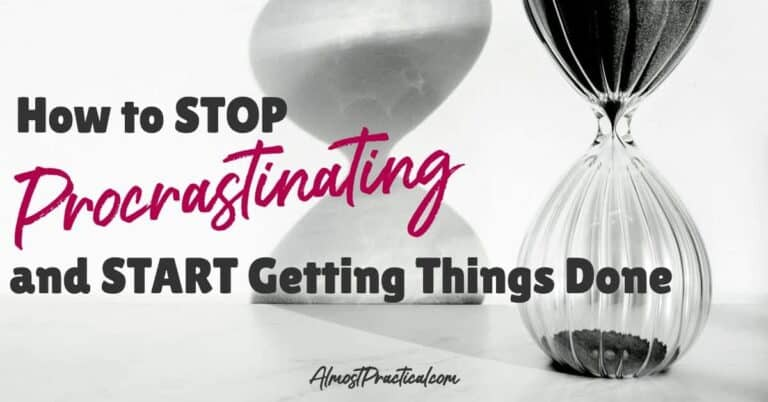 How to Stop Procrastinating and Start Getting Things Done