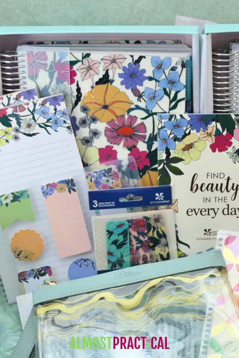 Erin Condren Flower Power LifePlanner Review