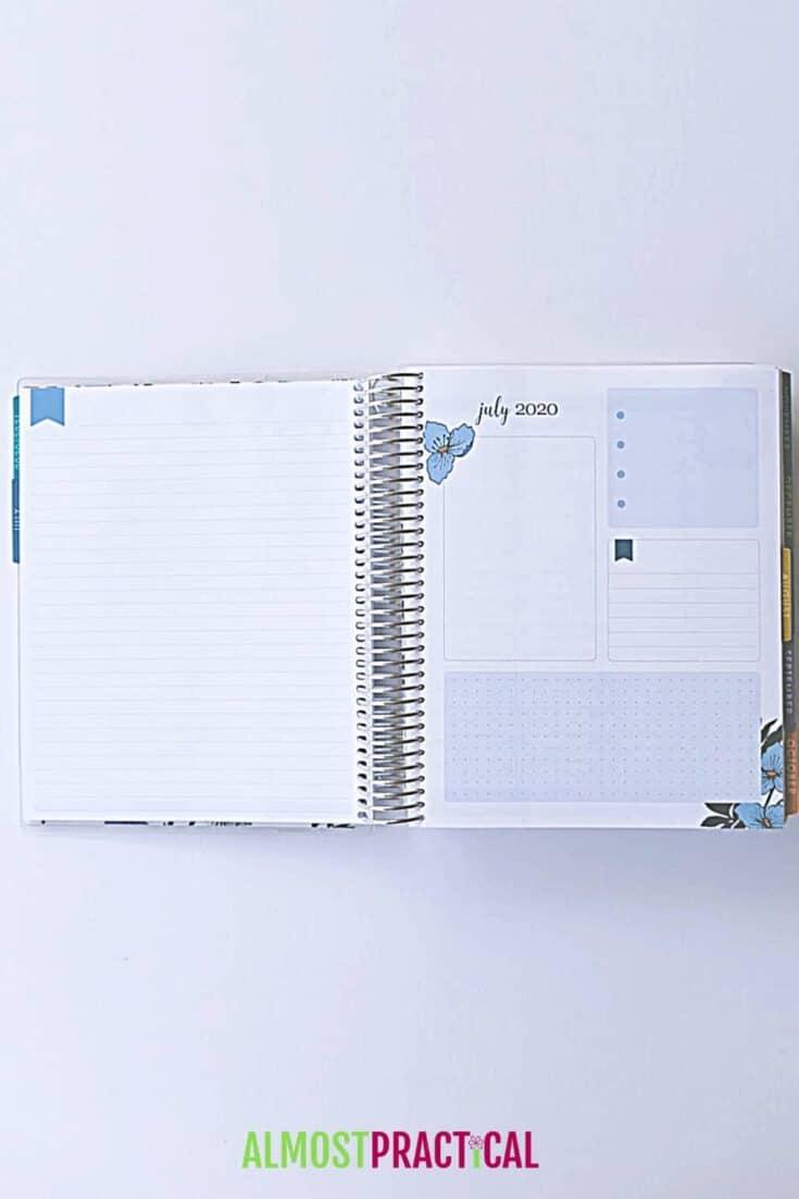 erin condren flower power lifeplanner productivity pages