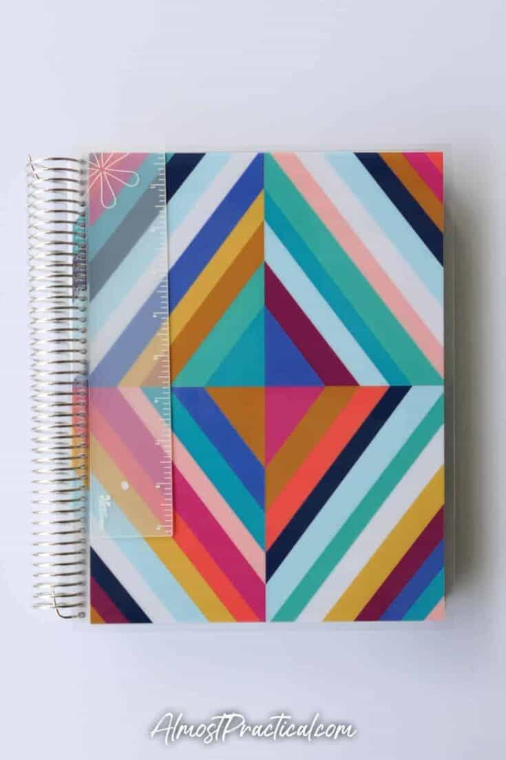 Erin Condren coiled teacher lesson planner