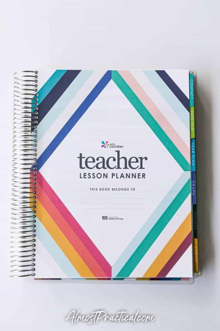 Erin Condren Teacher Planner Review 2020-2021