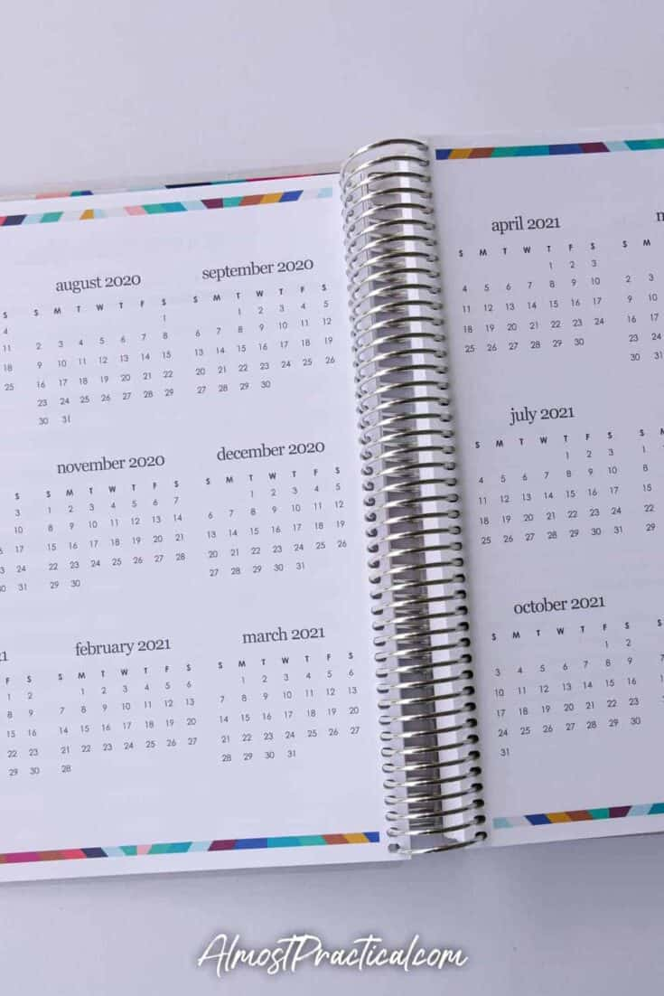 Mini Months in Coiled Lesson Planner