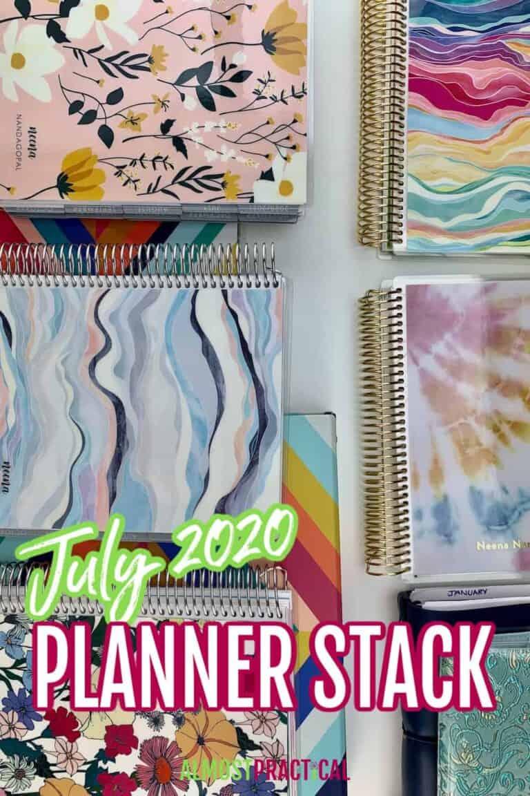 Planner Stack – July 2020