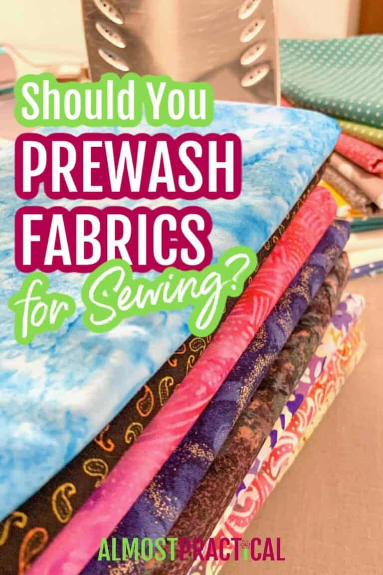 Should You Prewash Fabric for Sewing?