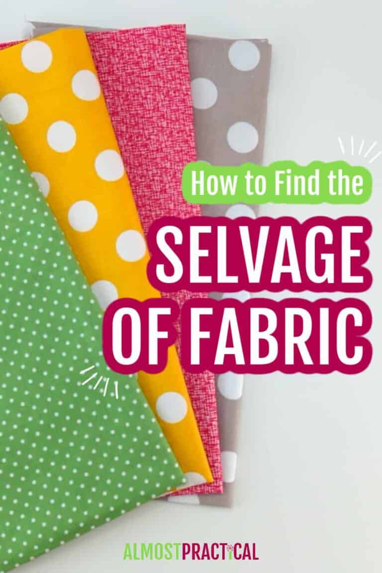 How to Find the Selvage of Fabric