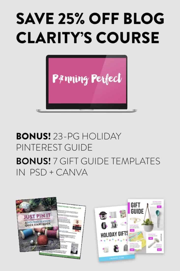 Pinning Perfect sale flyer