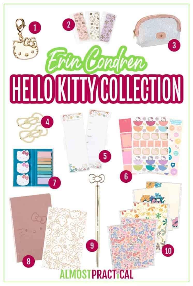 Erin Condren Hello Kitty Collection