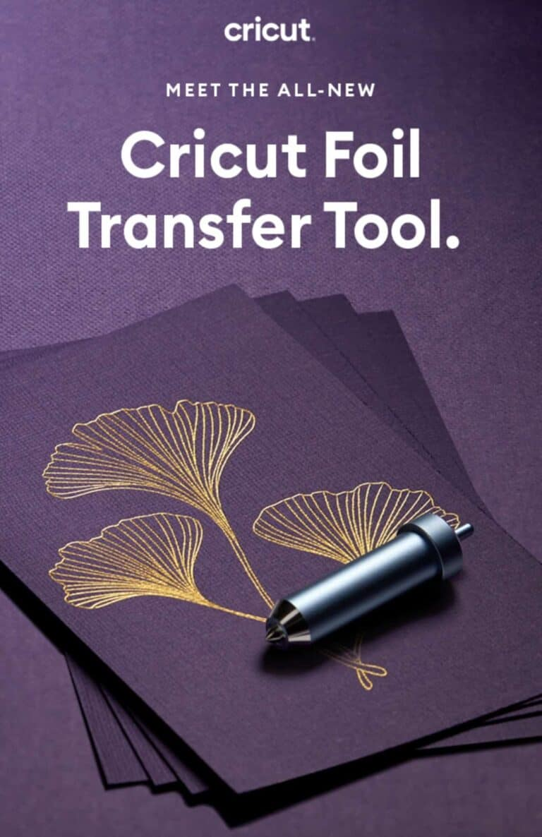 New Cricut Foil Transfer Tool