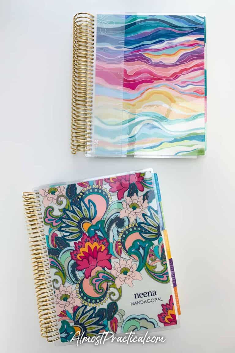Pros and Cons of the Erin Condren Daily Duo LifePlanner
