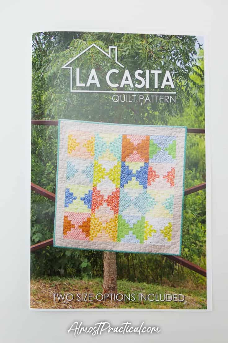 La Casita quilt pattern.