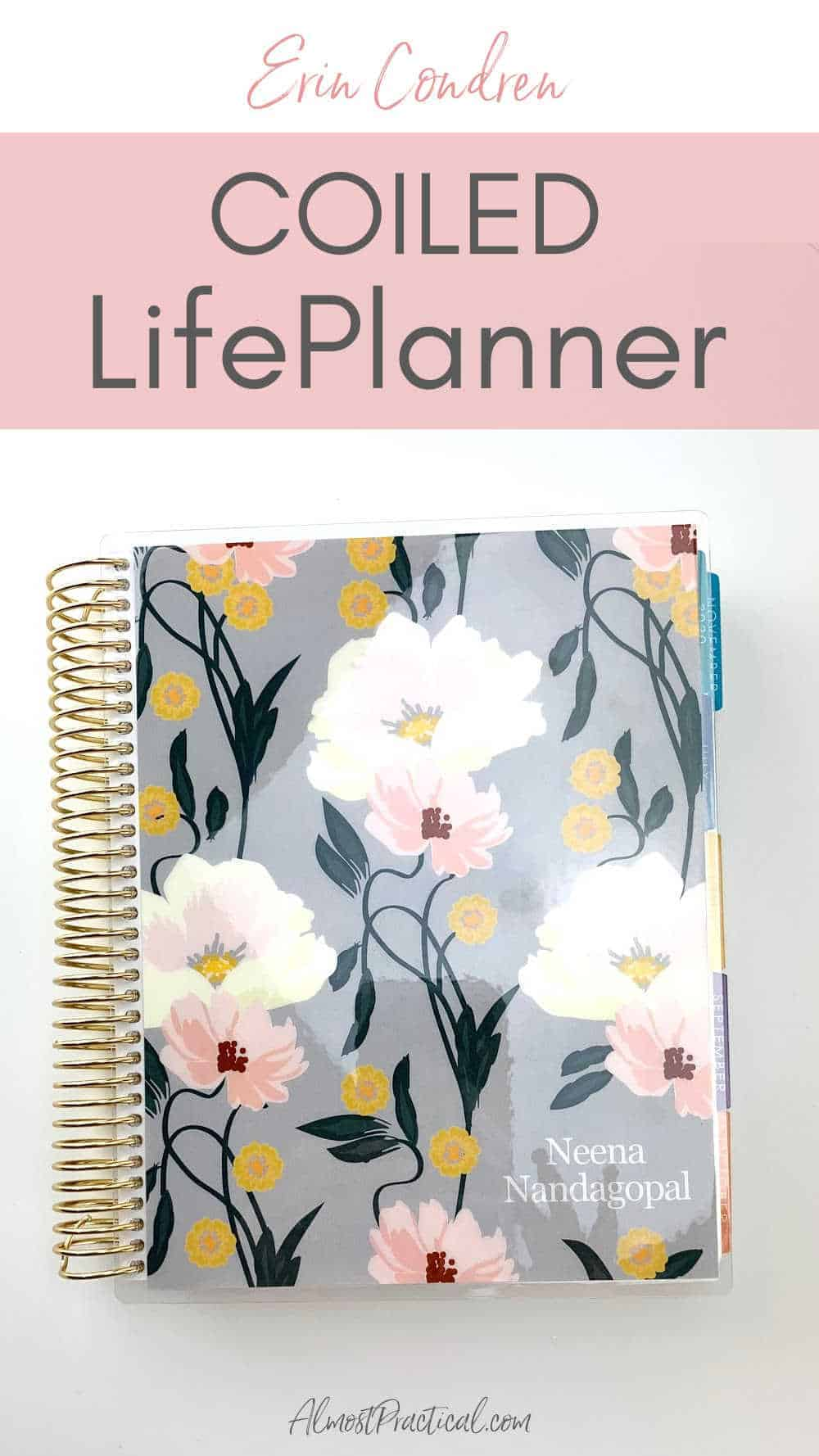 Erin Condren Coiled LifePlanner
