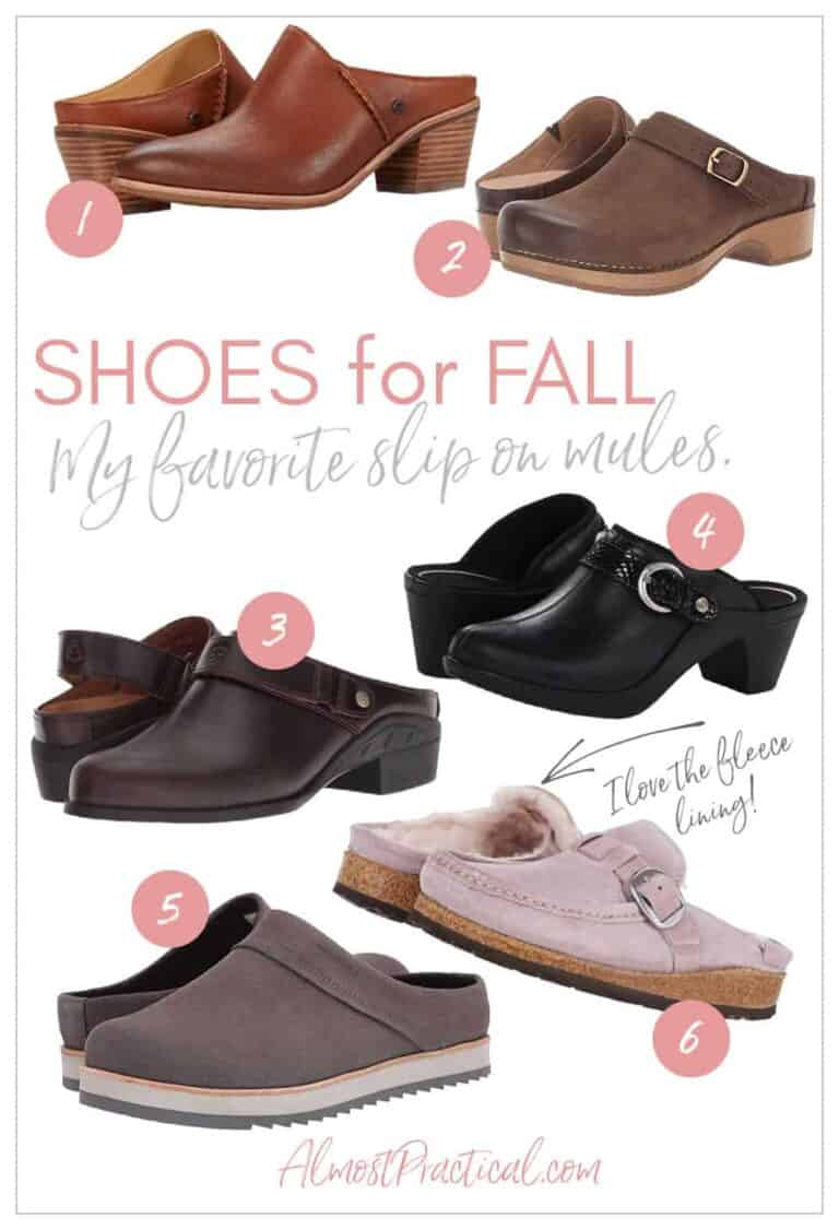 Mules for Fall – Which Shoes Do You Like Best?