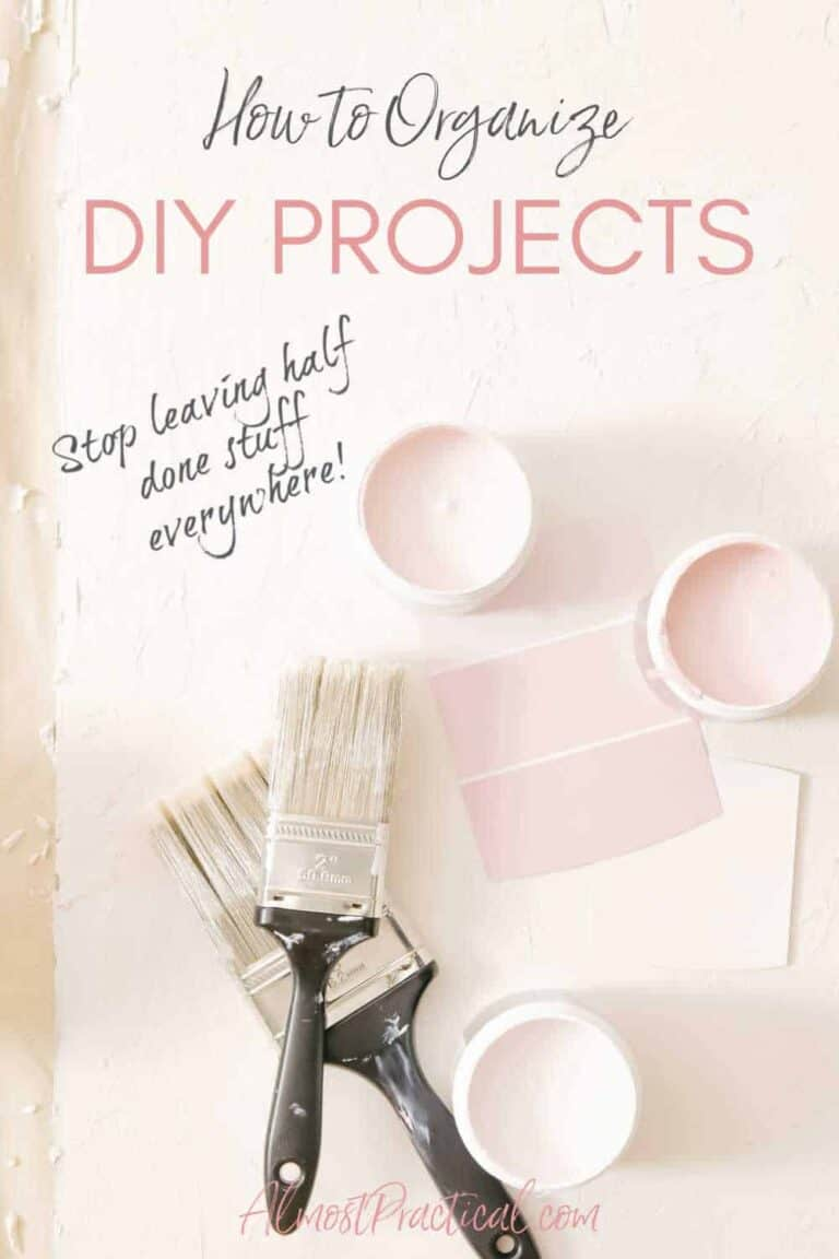 How to Organize Your DIY Projects