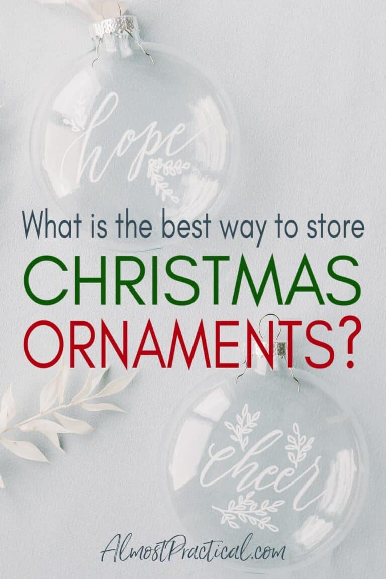 Christmas Ornament Storage – What is the Best Option?