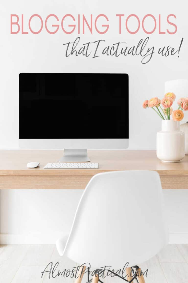 Blogging Tools That I ACTUALLY USE
